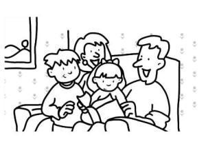 familia-leyendo